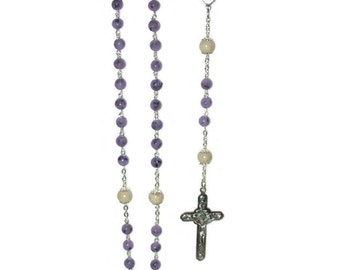 Rosary made from your Special Flowers by flowers2beads