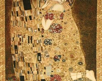 "Tapestry The Kiss by Gustav Klimt 110x70cm 43 ""x 27"" (1862-1918)"