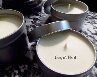"100% Soy ""Dragon's Blood"" Candle"