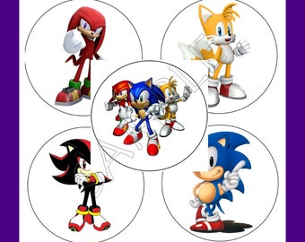 Sonic the Hedgehog Sticker Set