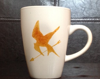 Mockingjay Mug Inspired by The Hunger Games