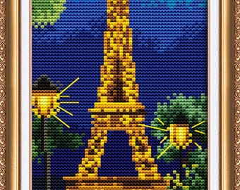 Paris - Cross Stitch Kit By Abris Art