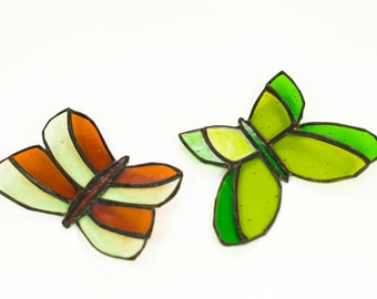 Stained Glass Butterflies