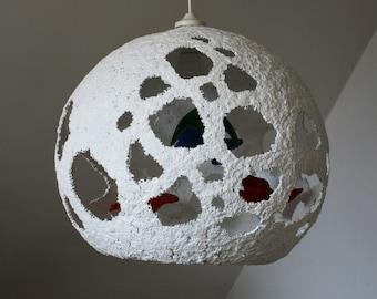 Birds lamp handmade
