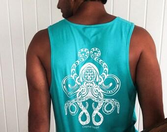 Tahiti Blue Octopus Tank