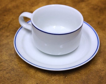 Vintage American Airlines First Class Tea Cup and Saucer. Mint