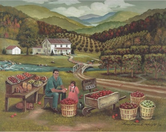 Apple Orchard Mountains Country Steam Farmhouse