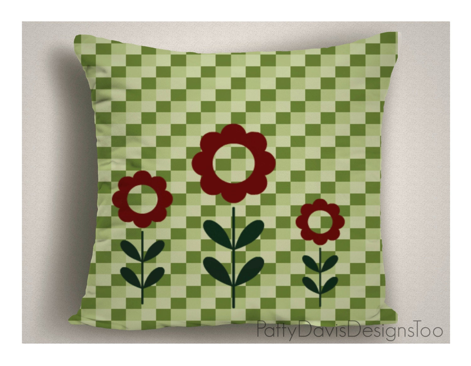 Decorative Throw Pillow, Two Sided, Washable, Nursery, Child's Room, Any Room