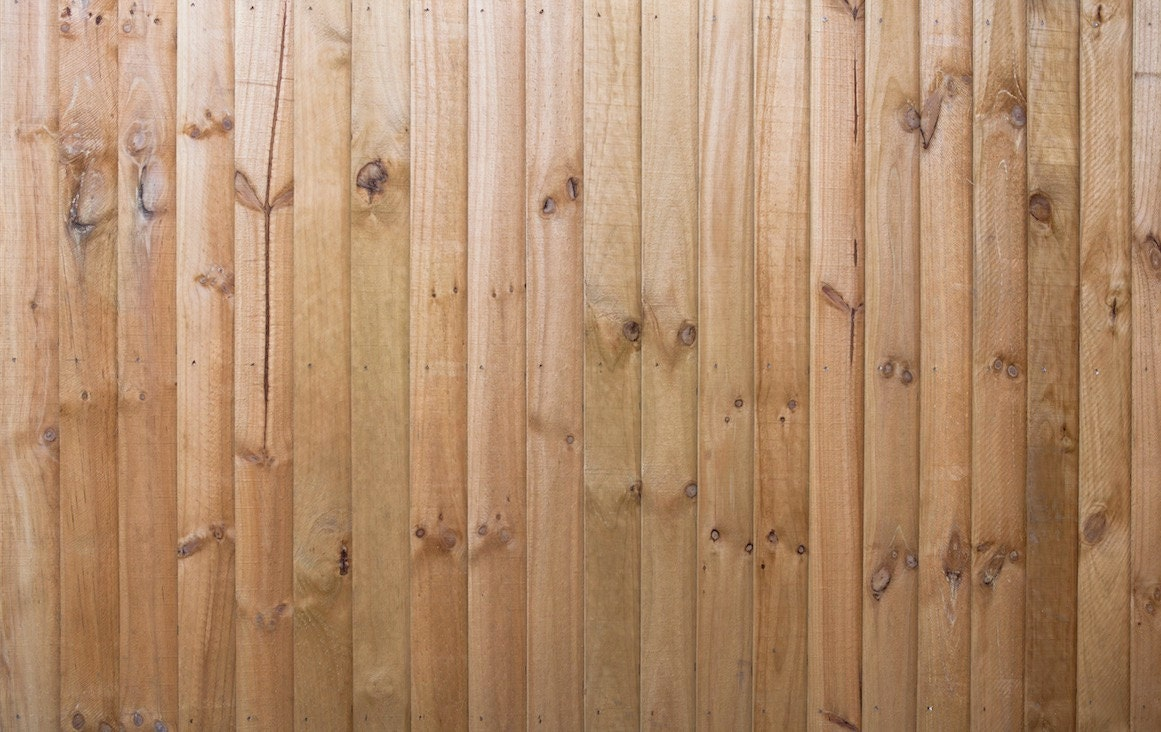 Self Adhesive Removable Wallpaper Wood Fence By Eazywallpaper