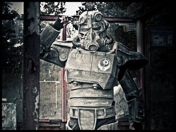 Fallout  Kids Costumes Power Armor
