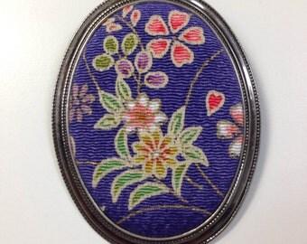 chirimen brooch Made in Japan