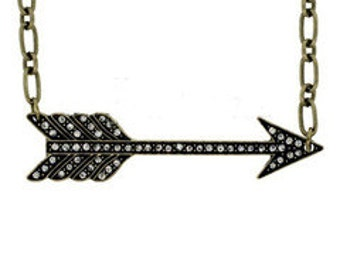 CUPIDS ARROW NECKLACE
