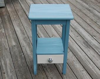 Ocean Blue Side table