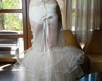 Mimosa bridal petticoat by BloomHer
