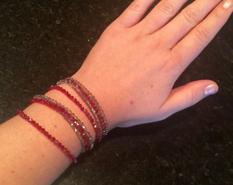 Stacked Beaded Bracelet