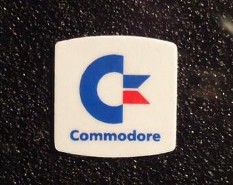 Commodore C64 Label / Aufkleber / Sticker / Badge / Logo 2cm x 2cm [300]