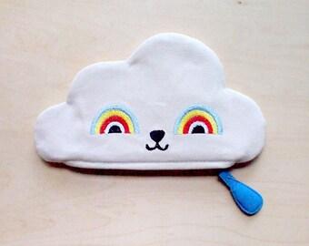 Zip Pouch - Rainbow Powers Cloud 2 (Cream)