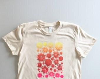 Bright Neon - Summer Citrus Ladies Tee - Small