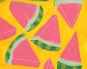 Watermelon : Art Print