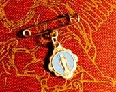 VIRGIN MARY PIN Petite Vintage Itay