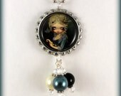 """Jasmine Becket Griffith  """" Marie Masquerade """"  necklace"""