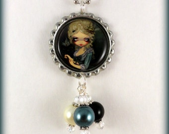 "Jasmine Becket Griffith  "" Marie Masquerade ""  necklace"