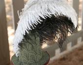 Green Fascinator Hat