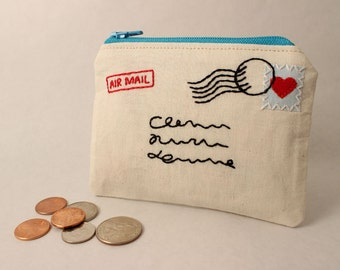 Sent with Love Coin Purse