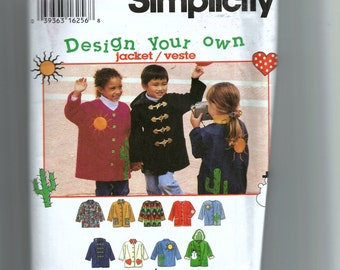 Simplicity Child's Jacket Pattern  9303