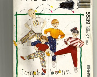 Simplicity Child's Top and Pants Pattern 5539