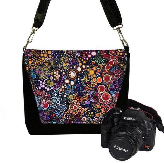 Creative New Digital SLR Camera Bag Womens DSLR Camera By Janinekingdesigns