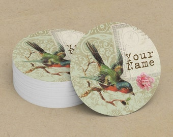 Custom Stickers  Custom Logo Stickers  Personalized Stickers  Product Labels  Adhesive Labels  Return Address Labels  Vintage Bird 5