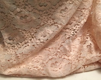 """Floral Lace Fabric 1-7/8 Yards Width 30"""""""