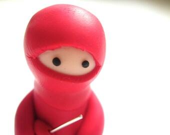 Magenta Pink Ninja Companion