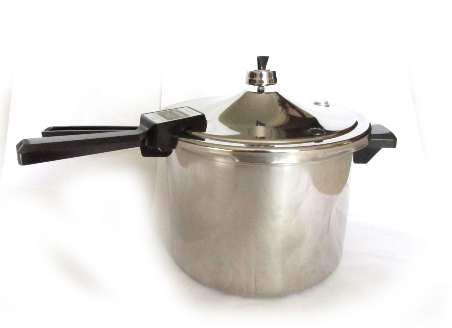 Presto Stainless Steel Pressure Cooker Vintage Old With