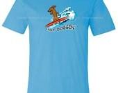Dachshund Hot Doggin T-Shirt