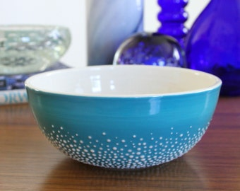Pebble Bowl in Blue - second