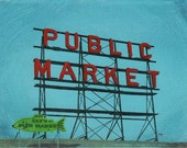 Sale 65% OFF!!  Seattle No. 46 - 6x8 Original