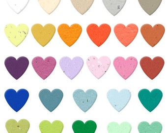 350 Heart Biodegradable Plantable Confetti