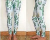 Cactus print womens leggings Supayana