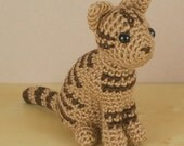 AmiCats Tabby Cat - amigurumi cat PDF CROCHET PATTERN