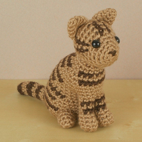 PDF AmiCats Tabby Cat amigurumi cat CROCHET PATTERN