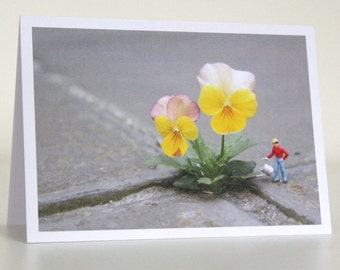 049 - from little things big things grow - greeting card