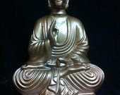 Gold  C-3P0 Buddha original sculpt and cast Custom Threepio Buddha