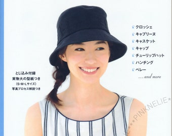 Handmade Hats n3782 - Japanese Craft Book