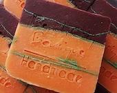 Sweet Orange Chili Pepper Handmade Cold Process Soap