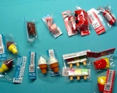 Kawaii Cake Popcicle French Fries Ice Cream Cone & more 13 pks total