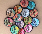 THREE Hillary Clinton for President 2016 - 1.25-inch buttons - by Via Delia