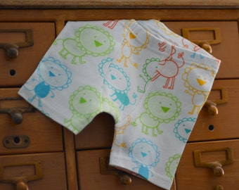 Leo the Lion - kids' custom boxer briefs with or without stripes  (made to order)