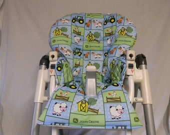 Prima Pappa And More Highchair Cover in John Deere And Animals See Descript